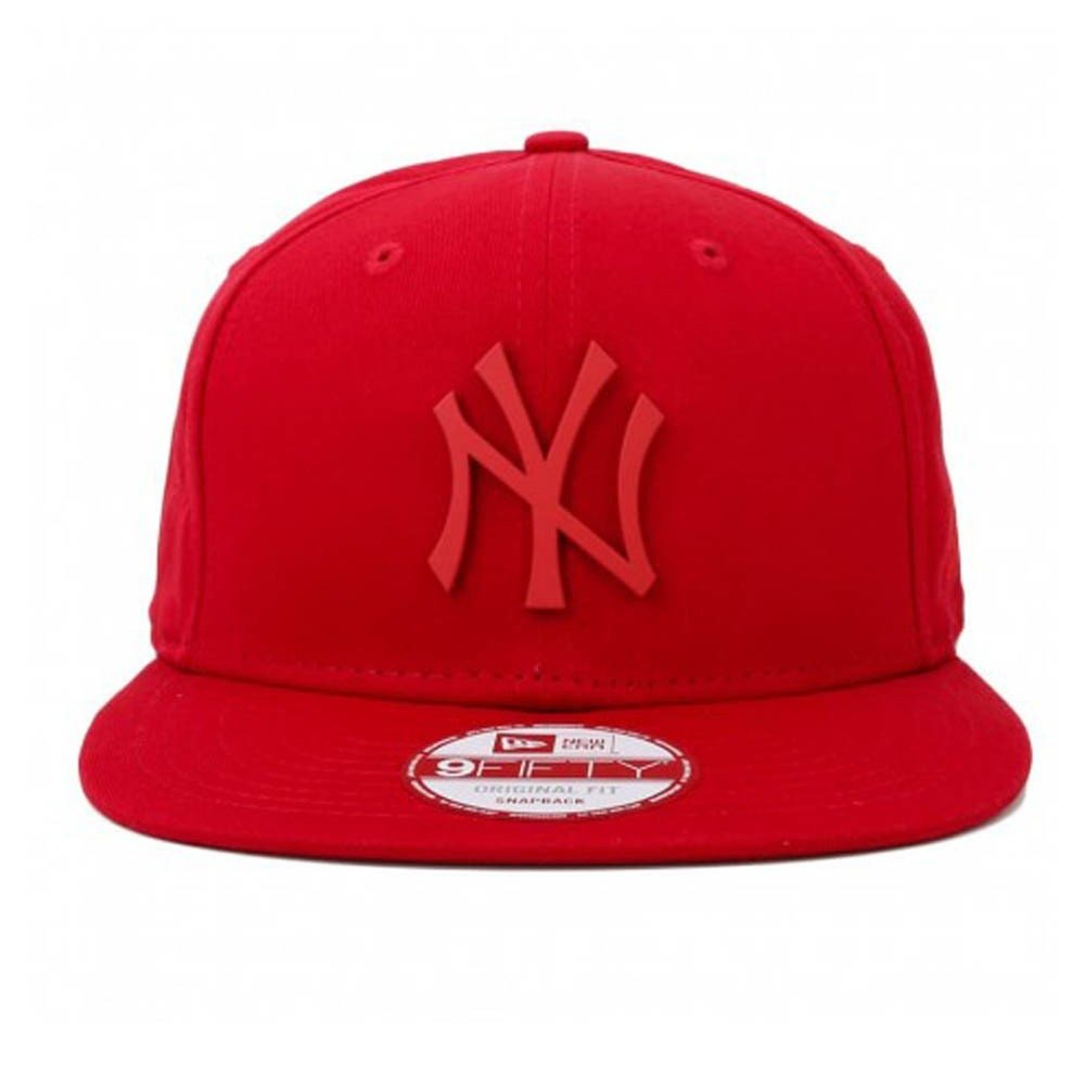 Boné New Era Snapback Original Fit New York Yankees Metal Vermelho eb4341b3503