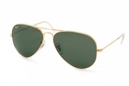 1fd2800537de9 ... ray ban aviador classico 3025 ou 3026 dourado lente verde