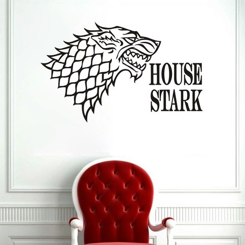 Adesivo House Stark - Game of Thrones
