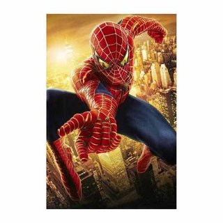 Cuadro Focu Deco Lienzo Canvas 20x30 Superhéroes - Spiderman