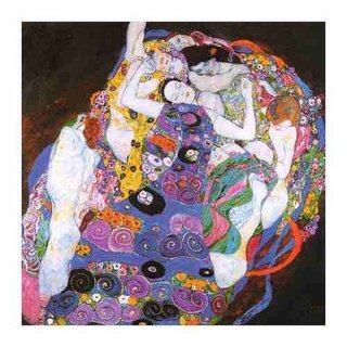 Cuadro Focu Deco Lienzo Canvas20x20 Klimt - The Maiden