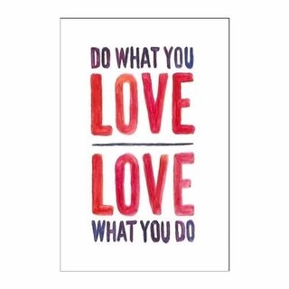 Cuadro Focu Deco Lienzo Canvas 20x30 Do What You Love