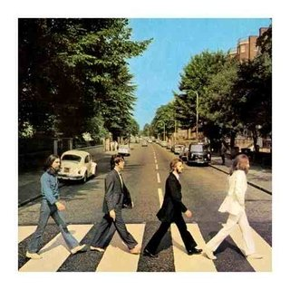 Cuadro Focu Deco Lienzo Canvas 20x20 Beatles - Abbey Road