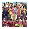 Cuadro Focu Deco Lienzo Canvas 20x20 Beatles - Sgt Peppers