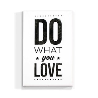Cuadro Focu Deco Lienzo Canvas 20x30 Do What You Love New