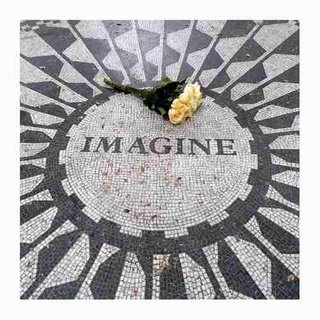 Cuadro Focu Deco Lienzo Canvas 20x20beatles - Lennon Imagine