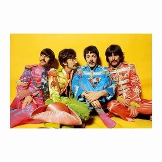 Cuadro Focu Deco En Lienzo Canvas 20x30 Beatles Sgt Peppers