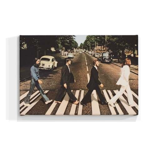 Cuadro Focu Deco En Lienzo Canvas 20x30 Beatles - Abbey Road