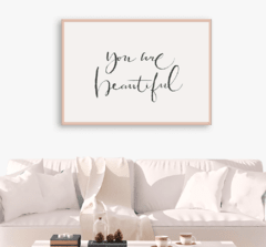 CUADRO YOU ARE BEAUTIFUL - comprar online
