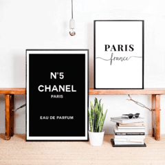 SET DE 2 CUADROS CHANEL PARIS - comprar online