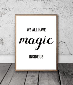 CUADRO MAGIC INSIDE US