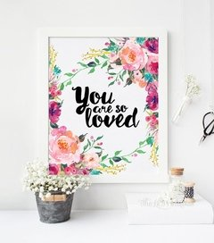 CUADRO YOU ARE SO LOVED - comprar online