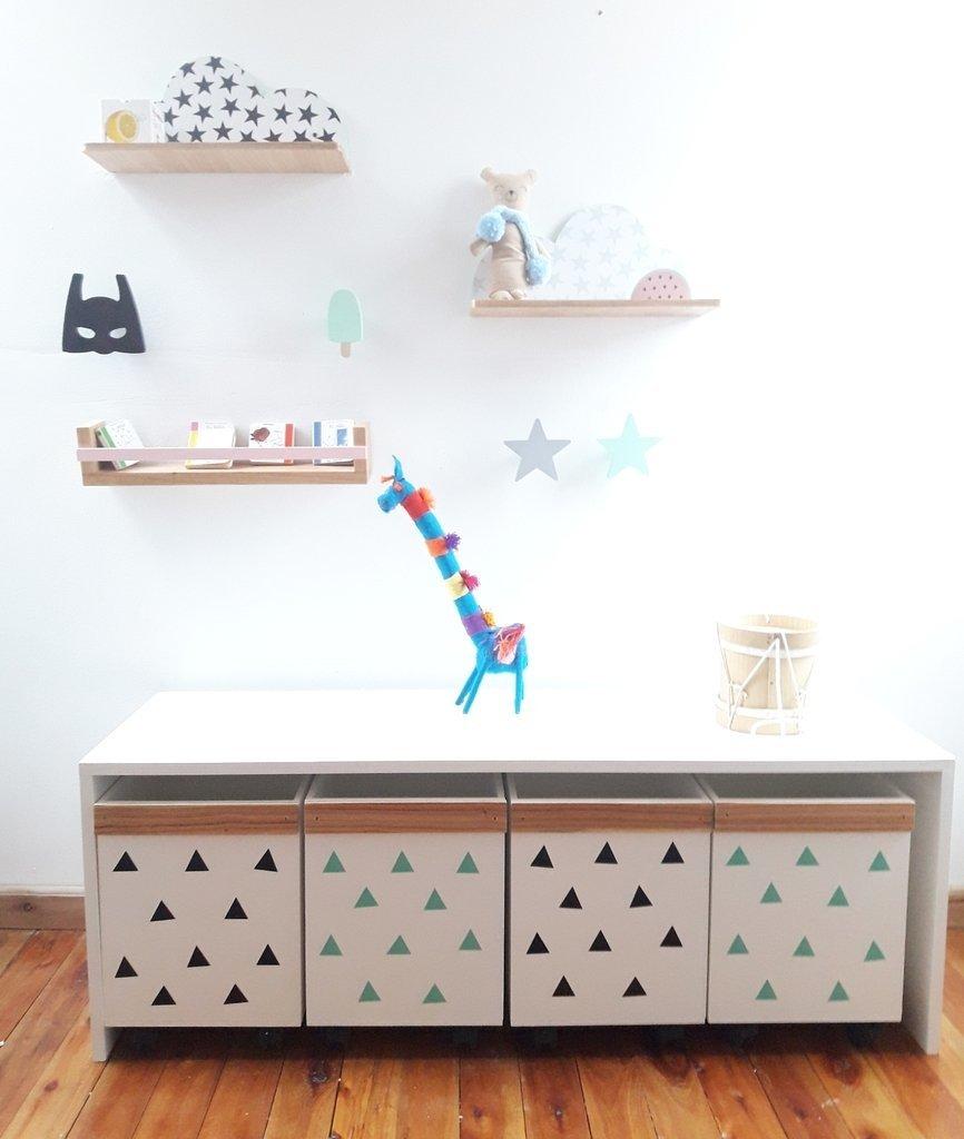 Maxi Mueble organizador de juguetes - La Vieja Virueja