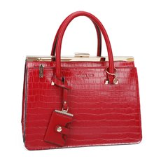 """SEMI GLOSSY CROCO RED"" PHI15039 - comprar online"