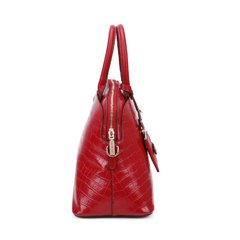 """SEMI GLOSSY CROCO RED"" PHI15042"