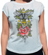 CAMISETA BLACK MARKET  BUTTERFLY