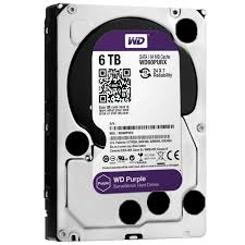 HD 6TB SATA2 7200RPM WD PURPLE