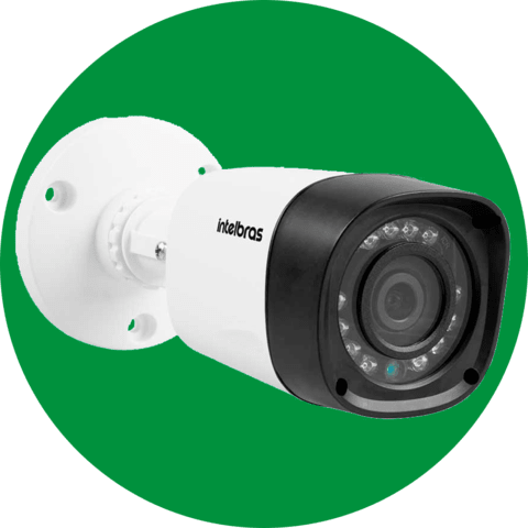 CAMERA INTELBRAS VHD 1220 BULLET FULL HD G4 - LENTE 3,6MM, INFRAVERMELHO 20 METROS