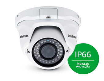 CAMERA DE TV IP BULLET VIP 1130 VF G2 C/ INJETOR POE