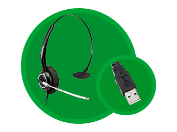 HEADSET INTELBRAS THS 55 USB