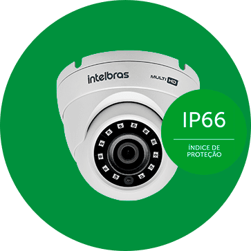 CAMERA INTELBRAS VHD 3220 DOME FULL HD G4 - INFRAVERMELHO 20 METROS