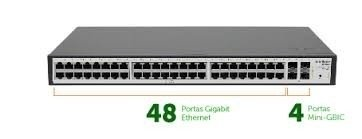 SWITCH GERENCIAVEL INTELBRAS SG 52000 MR 48P GIGA + 4P MINI