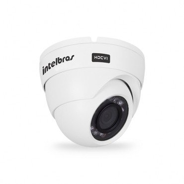 CAMERA INTELBRAS VHD 5020 DOME - INFRAVERMELHO 20 METROS, LENTE 3,6MM