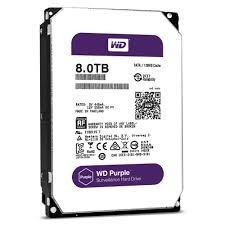 HD 8TB SATA2 7200RPM WD PURPLE