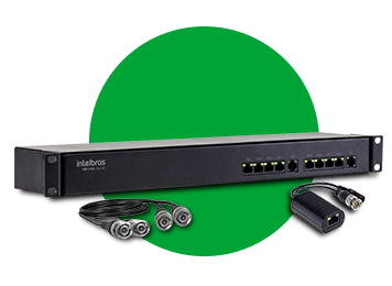 POWER BALLUN INTELBRAS VBP A08C - 08 CANAIS  FULL HD