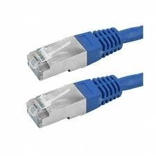 CABO PATCH CORD CAT5E FTP AZUL 2M
