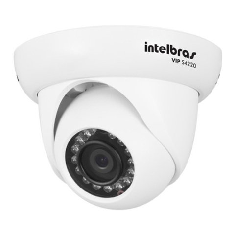 CAMERA IP INTELBRAS DOME VIP S4220 - INFRAVERMELHO 20 METROS