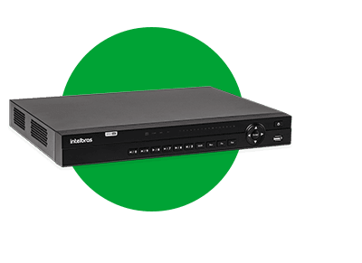 DVR INTELBRAS MHDX 7132 C/ HD 4TB