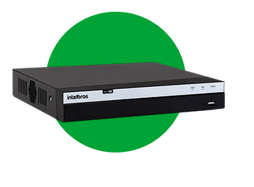 DVR INTELBRAS MHDX 3116 COM HD 3TB WD PURPLE