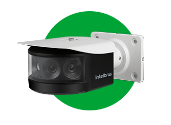 CAMERA IP INTELBRAS VIP 7180 B PANORAMICA