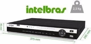 DVR HDCVI 3132 GRAVADOR 32 CANAIS FULL HD INTELBRAS
