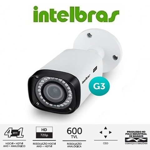 CAMERA INTELBRAS VHD 3140 VF G3 INTELBRAS