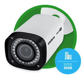 CAMERA INTELBRAS VHD 3140 VF G4 - RESOLUÇÃO 720P, IR INTELIGENTE, IP66, LENTE VARIFOCAL 2.7 á 13,5 MM