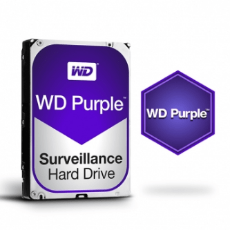 HD WD PURPLE 10TB - (ESPECÍFICO PARA DVR INTELBRAS)