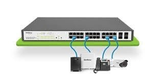 SWITCH GERENC INTELBRAS 24P GB 4P SFP / SG2404 POE