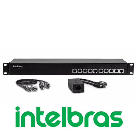 POWER VIDEO BALLUN INTELBRAS - VBP A08C 8 CANAIS FULLHD