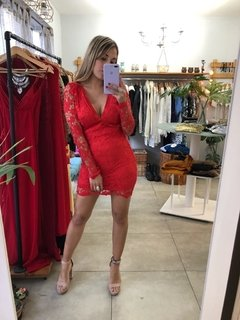 Vestido Olive Red en internet