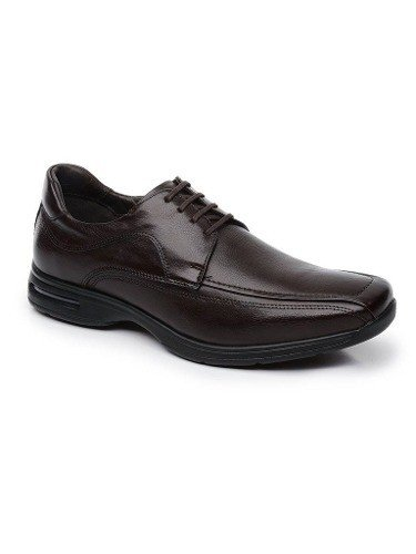Sapato Democrata Smart Comfort Air Stretch Spot Brown