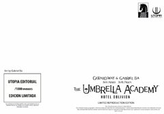 The Umbrella Academy: Hotel Oblivion en internet