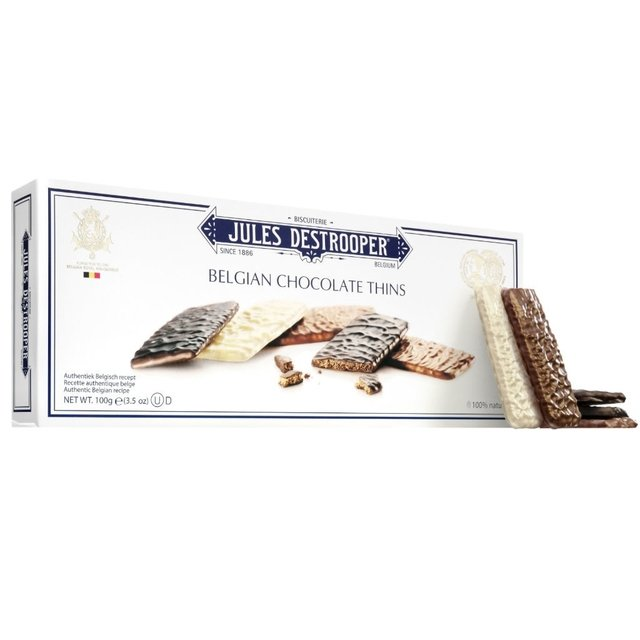 BELGIAN CHOCOLATE THINS 100 GRS - comprar online
