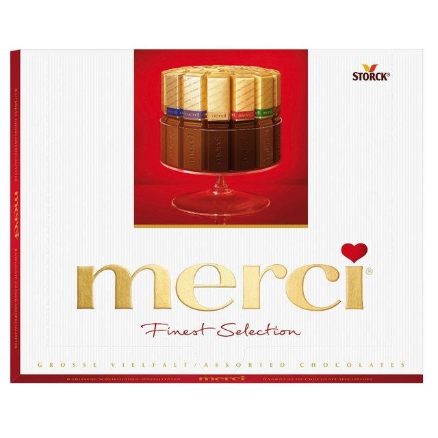 MERCI FINEST SELECTION 250 GRS