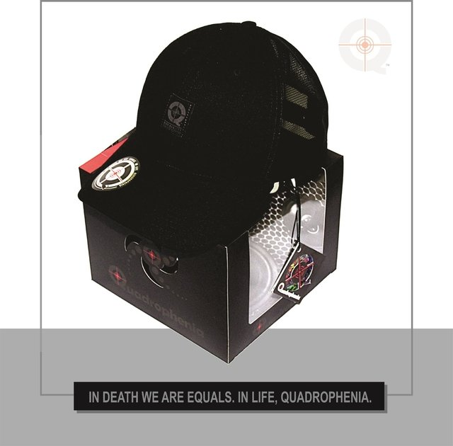 CAP QUAD BLACK