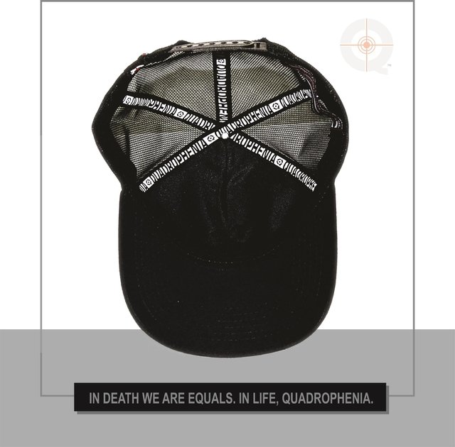 CAP QUAD BLACK - Quadrophenia