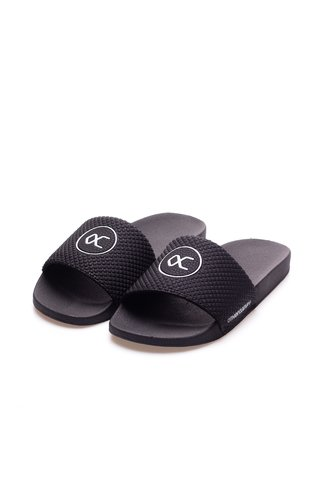 Other Culture Chinelo Slide -  Casual Logo Black