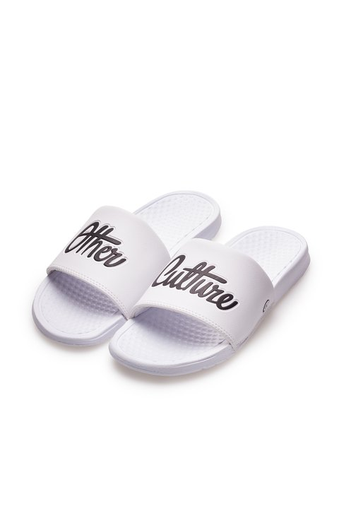 Other Culture Chinelo Slide -  Lifestyle Tech Signature White