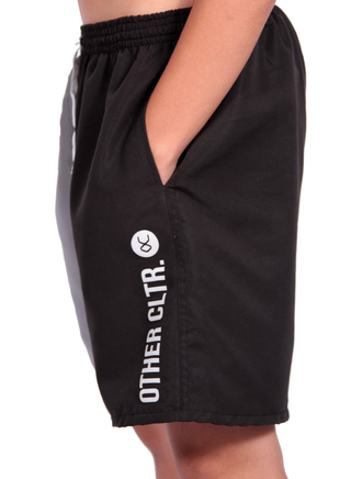 Other Culture - Shorts Sport Bicolor Preto - comprar online